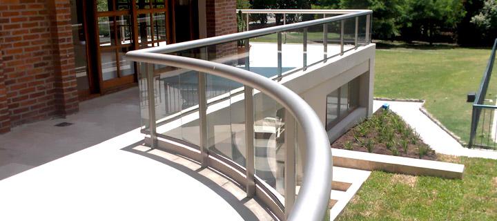barandales de aluminio para balcones materiales de
